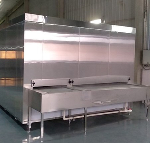300kg/H Bed Tunnel Freezer for Fruit and Vegetable Made in China