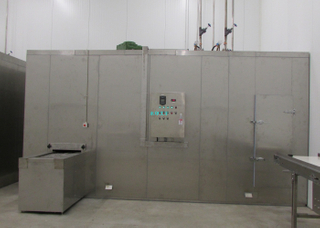 Better Automatic 1000kg/h Spiral Freezer for Meat Or Fish
