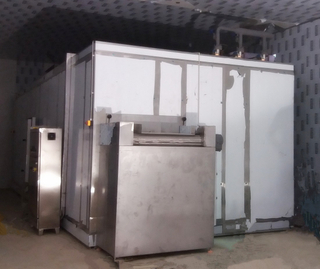 High Quality Fluidized IQF Freezer 300-2000kg/h for Vegetables Fluidized Bed Freezer