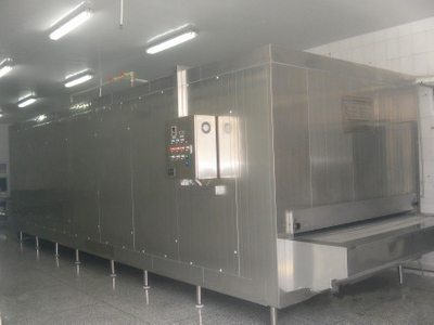 China High Quality Tunnel Freezer 500kg/h Suitable for All Kinds of Frozen Food