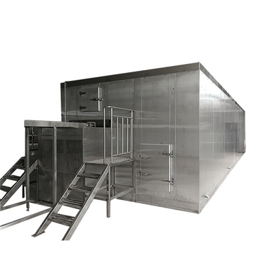 Automatic Fluidized Bed Freezers/ IQF Individual Quick Frozen Fruit And Vegetable Processing