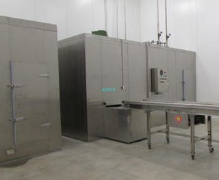 High Automatic 200-1500kg/h Single Spiral Freezer /Freezing for Kinds of Seafood