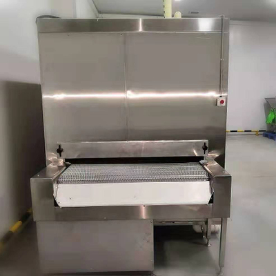 High Quality 100kg/h China Tunnel Freezer / Refrigeration Food Processing Machinery