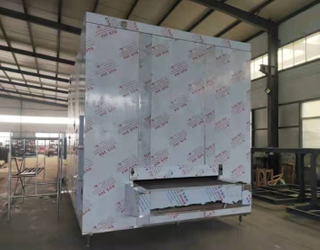 IQF Tunnel Freezer for Fish/Shrimp/Meat with High Efficiency